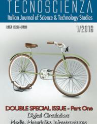 TECNOSCIENZA: pubblicato il nr. 13 – Vol 7, No 1 (2016)